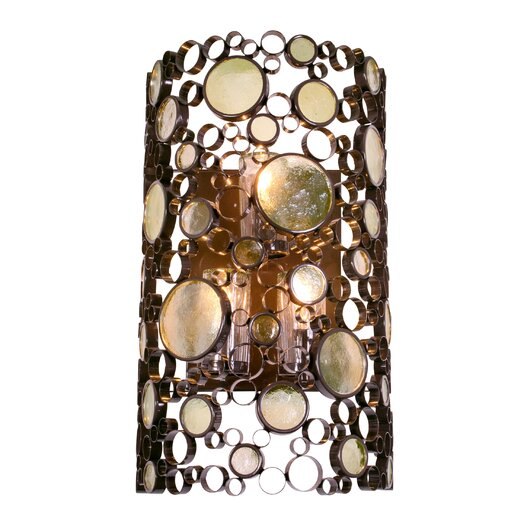 Varaluz Fascination 3 Light Outdoor Wall Bracket