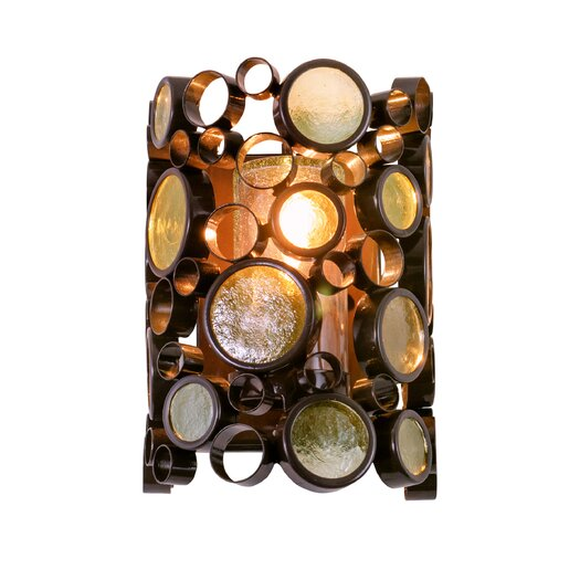 Varaluz Fascination 1 Light Outdoor Wall Bracket