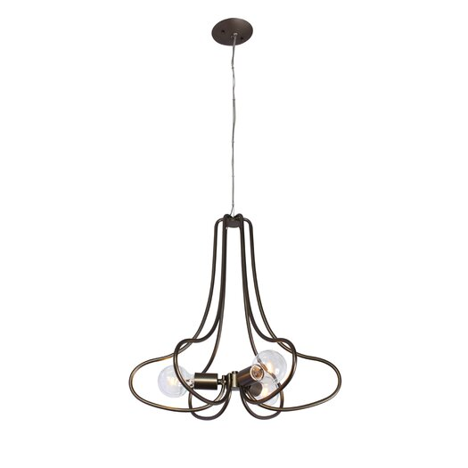 Varaluz The Whole Package 3 Light Mini Chandelier