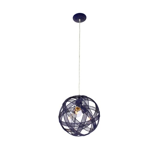 Varaluz At-Mesh-Sphere 3 Light Mini Pendant