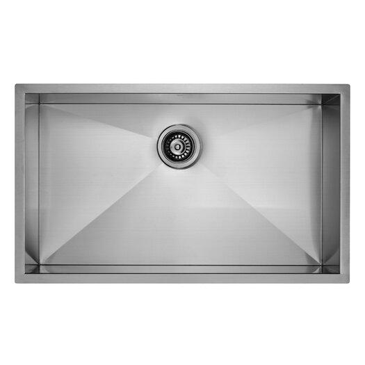 """Vigo 19"""" Undermount Kitchen Sink"""