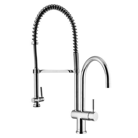 Vigo Two Handle Single Hole Pot Filler Kitchen Faucet