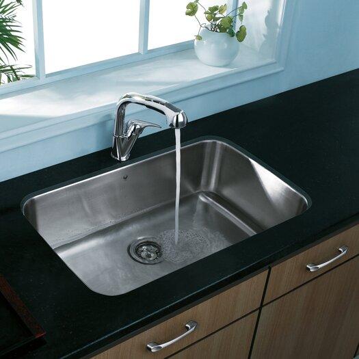 "Vigo 30"" x 18"" Undermount Single Bowl Kitchen Sink"