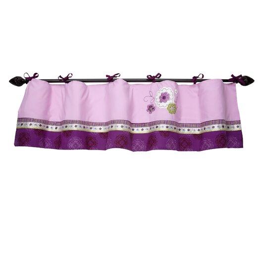 """NoJo Pretty in Purple 60"""" Curtain Valance"""