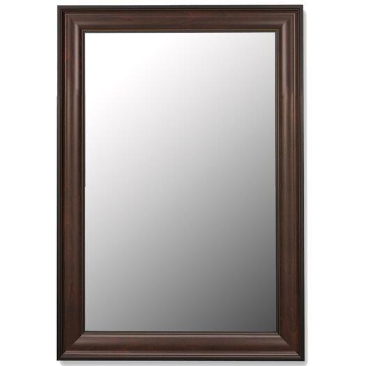 Hitchcock Butterfield Company Traditional Mahogany Black Framed Wall Mirror
