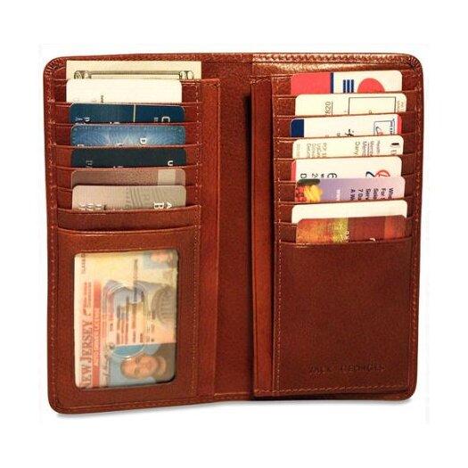 Jack Georges Sienna Breast Secretary Men's Wallet