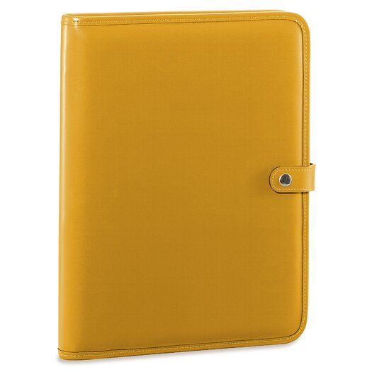 Jack Georges Milano Letter Size Writing Pad with Snap Closure