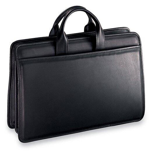 Jack Georges Platinum Triple Gusset Briefcase