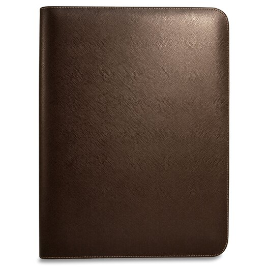 Jack Georges Prestige Letter Size Writing Pad in Brown