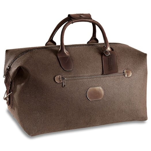 "Jack Georges Nevada 19"" Leather Carry-On Duffel"
