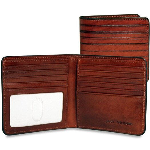 Jack Georges Monserrate Bi-Fold Hipster Wallet