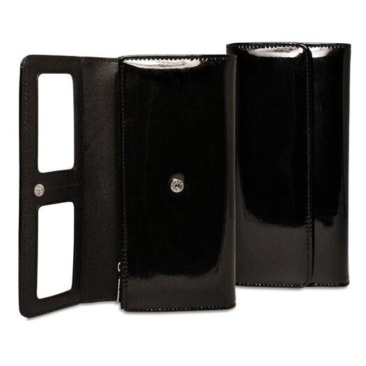 Jack Georges Patent Clutch Wallet