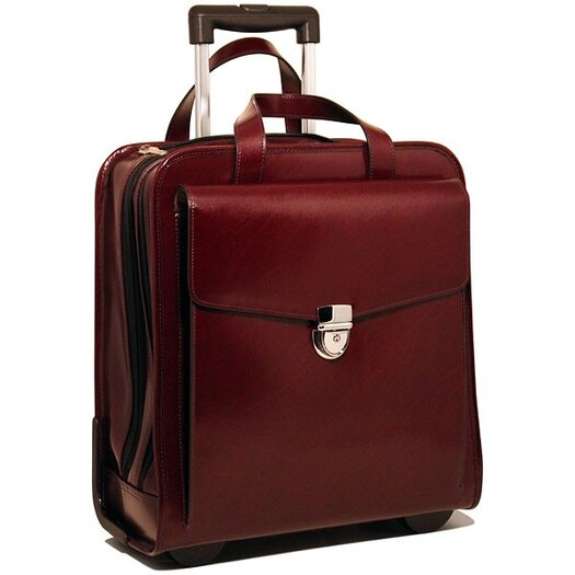 Jack Georges Vertical Laptop Case with Wheels