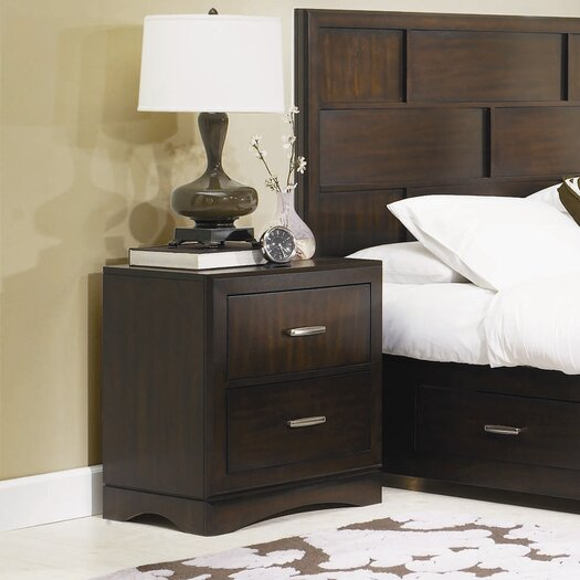 Najarian Furniture Key West 2 Drawer Nightstand