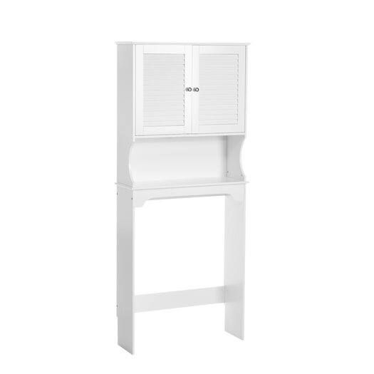 """RiverRidge Home Products Ellsworth 27.36"""" x 63.75"""" Over the Toilet Cabinet"""
