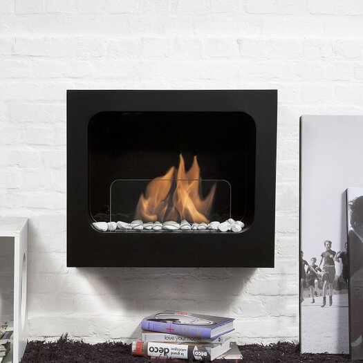Bio-Blaze Colombus Wall-Mounted Fireplace