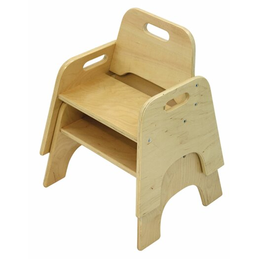 ECR4kids Wooden Kid's Seat
