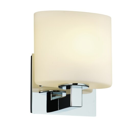 Justice Design Group Fusion Modular ADA 1 Light Wall Sconce