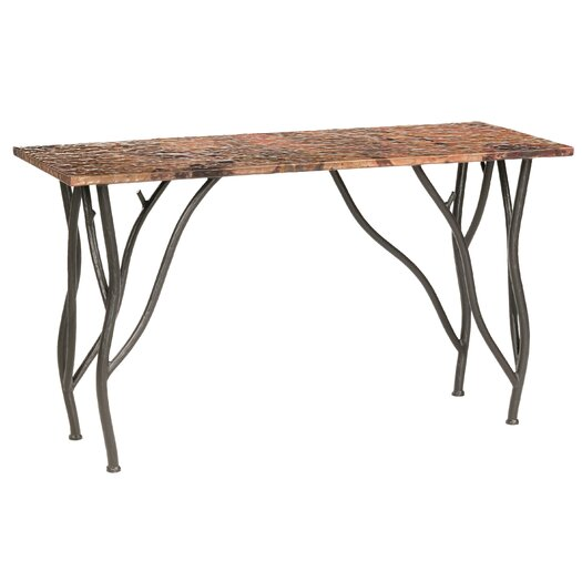 Stone County Ironworks Woodland Console Table