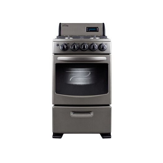 Summit Appliance Free Standing Gas Stove