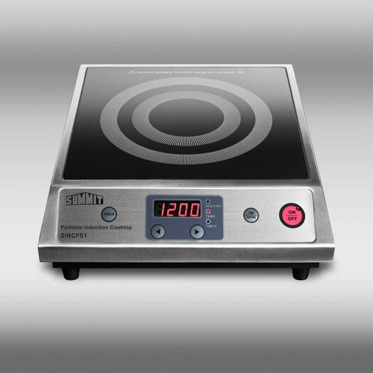 "Summit Appliance 12.5"" Induction Cooktop"
