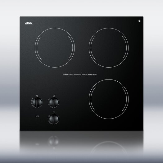 """Summit Appliance 20.63"""" Electric Cooktop"""
