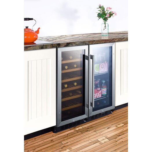 Summit Appliance Single Zone 3 Bottle Thermoelectric Wine Refrigerator