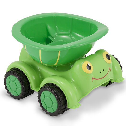 Melissa and Doug Tootle Turtle Dump Truck