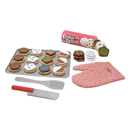 Melissa and Doug 34 Piece Cookie Baking Play Set