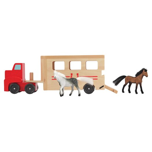 Melissa and Doug Horse Carrier Truck Vehicle Set