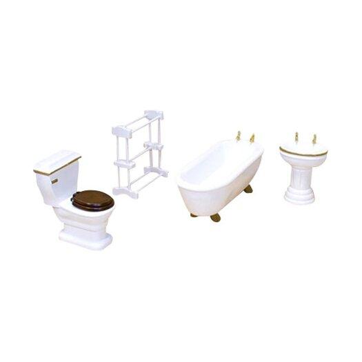 Melissa and Doug Dollhouse Bathroom Furniture
