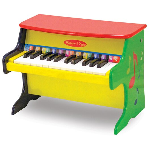 Melissa and Doug Learn-to-Play Piano Music Toy