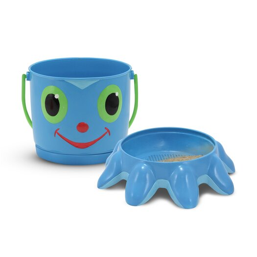 Melissa and Doug Flex Octopus Pail and Sifter