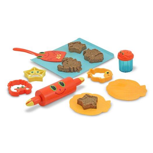 Melissa and Doug Seaside Sidekicks Sand Cookie Set