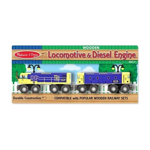 Melissa and Doug Locomotive and Diesel Engine