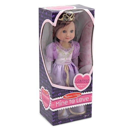Melissa and Doug Larissa Princess Doll