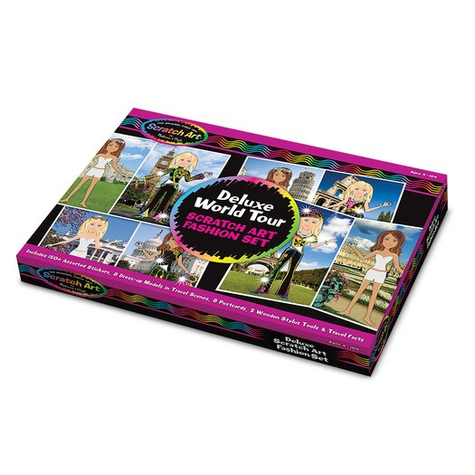 Melissa and Doug Deluxe World Tour Fashion Set
