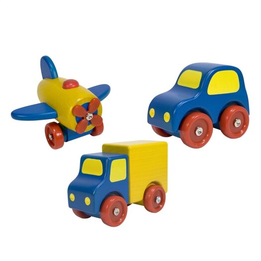 Melissa and Doug First Vehicle Set
