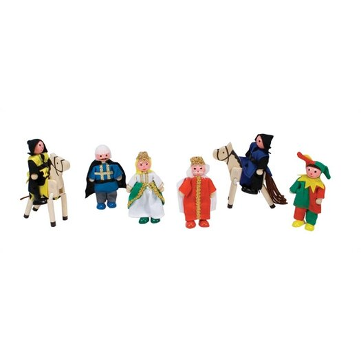 Melissa and Doug Castle Dolls Play Figures Set