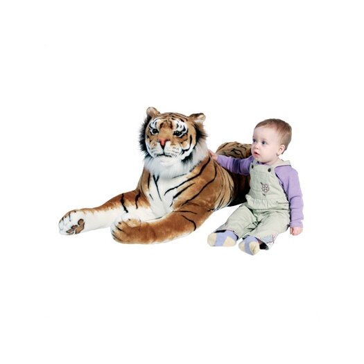Melissa and Doug Large Tiger Stuffed Animal Plush Toy