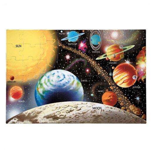 Melissa and Doug Solar System Puzzle (48 pcs)