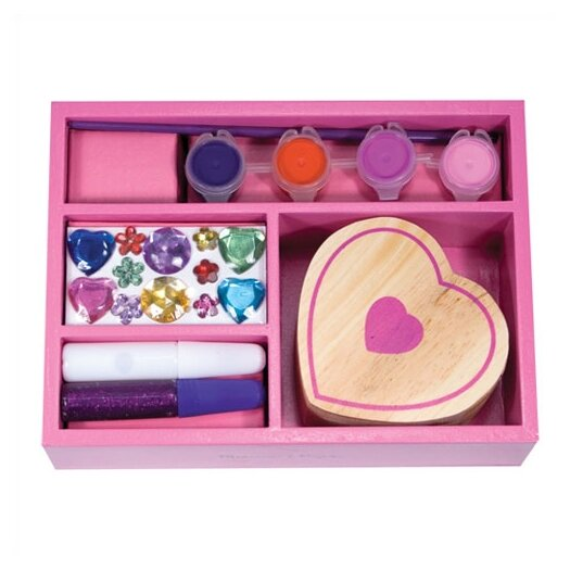 Melissa and Doug DYO Heart Box Arts & Crafts Kit