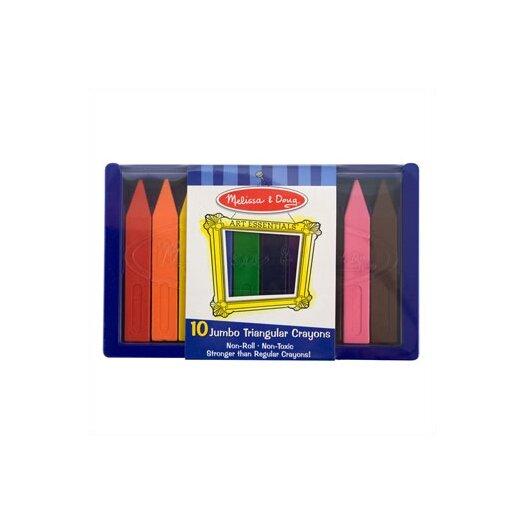 Melissa and Doug Jumbo Triangular Crayon