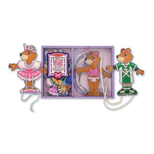 Melissa and Doug Lacing Bear Dress-Up