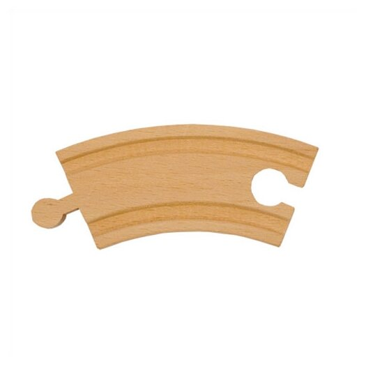 "Melissa and Doug 3.25"" Curved Track"