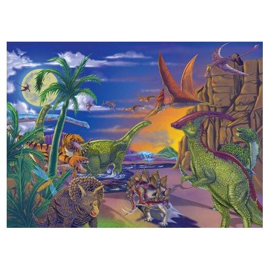 Melissa and Doug Land of Dinosaurs Cardboard Jigsaw Puzzle
