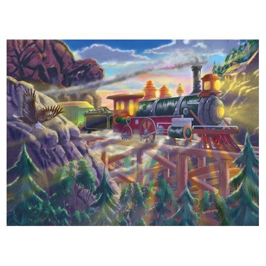 Melissa and Doug Eagle Canyon Railway Cardboard Jigsaw Puzzle