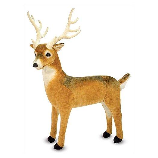 Melissa and Doug Deer Plush Stuffed Animal