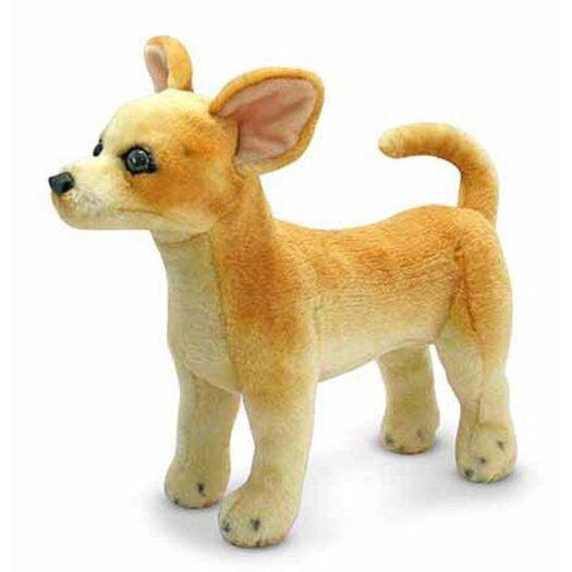 Melissa and Doug Chihuahua Plush Stuffed Animal