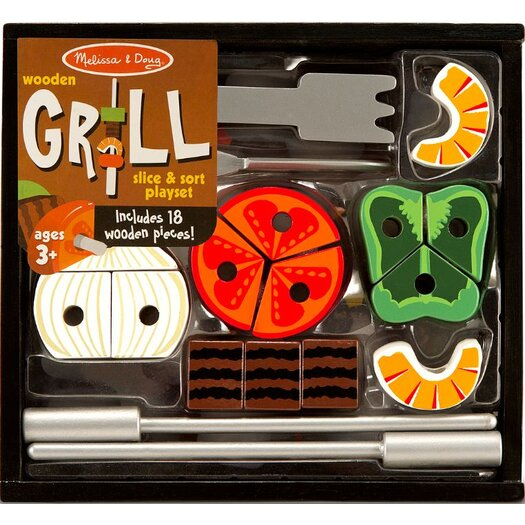 Melissa and Doug 21 Piece Grill Set